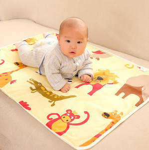 Wholesale babies change tables for sale - Group buy Blanket Changing Mat Cartoon Sheet Waterproof Baby Changing Pad Blanke Nappy Pads Table Diapers Game Play Cover Infant Blanket GGC2141