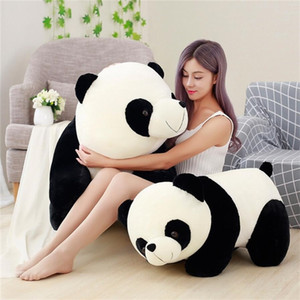 Wholesale giant plush pillows for sale - Group buy Cute Panda Big Giant Panda Bear Plush Stuffed Animal Doll Toy Pillow Cartoon Kawaii Dolls Girls Christmas Gifts