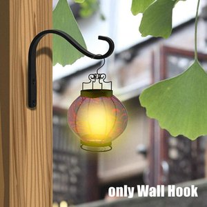 Wholesale rustic wall art decor resale online - Heavy Duty Plant Hanger Simple Iron Art Durable Rustic Patio Home Decor For Hanging Lantern Rustproof Wall Hook Easy Install1