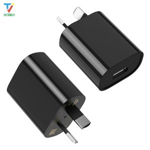 Wholesale market phones resale online - Small Size SAA RCM Certified AU Plug Phone Accessories W V A Mobile Phones Australia Market USB Wall Charger for iPhone iPad