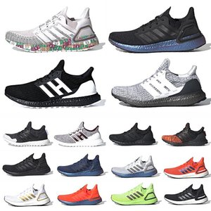 zapatos globales al por mayor-Moneda global Ultra Boost Mens Running Shoes Tech Indigo Peking Ultraboost Triple Negro Volt Hombres Mujeres Entrenadores Deportes Zapatillas