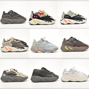 Wholesale small round magnets for sale - Group buy Magnet Infant Kanye OOV2 Kids Running Shoes Inertia Mauve Anolog Small Boy Girl Trainers Big Children Fashon Sneakers Wave Runner