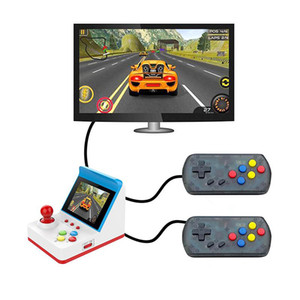 Wholesale free multi games resale online - A6 Retro Arcade Game Mini Protable Handheld Game Console Inch Screen Games Player TV Output for Kids Birthday Christmas Gift