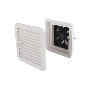 Wholesale shutters for windows resale online - 24V Uni directional Strong Wind RV Cooling Vent Fan White Side Window Shutter for Caravan1