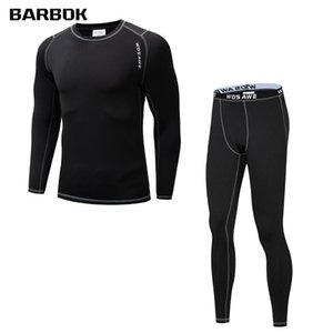 Wholesale sports base layer for sale - Group buy WOSAWE Winter Cycling Base Layer Long Sleeve Fleece Thermal Breathable Underwear Men Running Ski Sports Underwear Clothing