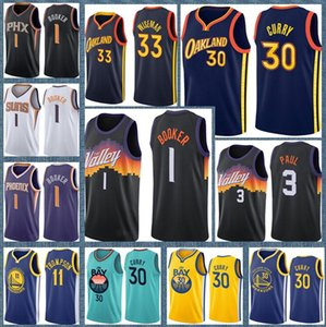 camisolas douradas  venda por atacado-Stephen Curry James Wiseman Golden State