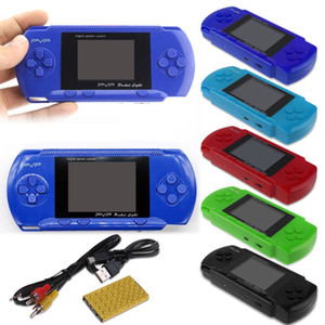 ingrosso lettore video leggero-PVP Handheld Game Player PvP stazione PvP Light pollici schermo LCD retrò mini portatili console di videogiochi portatili console TV Game Box PK SUP PXP3