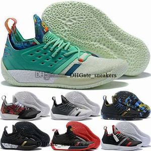 Wholesale harden vol 2 for sale - Group buy basketball shoes mens size us tripler black James cheap vol trainers eur men children women Schuhe Harden vol Sneakers