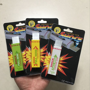 Wholesale chew gum for sale - Group buy New Electric Shock Joke Chewing Gum Pull Head Shocking Toy Gift Gadget Prank Trick Gag Funny