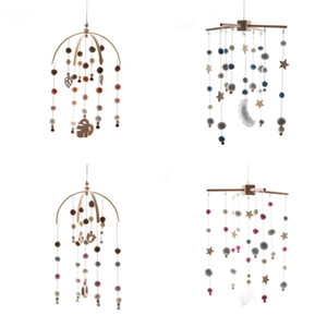 Wholesale crib mobile arm for sale - Group buy Baby Mobile Hanging Rattles Toys Wind up Music Box Hanger DIY Hanging Baby Crib Mobile Bed Bell Wood Toy Holder Arm Bracket Z1211