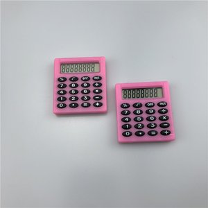 Wholesale scientific calculator resale online - Small Square Calculator Portable Pocket Scientific Student Exam Learning Essential Calculator Office School Stationery Colors GWA2955