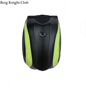 motorcycle riding backpack shoulder knight motorcycle backpack male explosive hard shell helmet bag carbon fiber waterproof