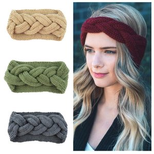 Wholesale ear muffs for adults resale online - Kids Adults Thick Warm Winter Hat For Women Soft Stretch Cable Knitted Pom Poms Beanies Hats Women s Skullies Beanies Girl Ski Cap Ear Muffs