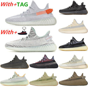 2021 New Kanye West Tail Light Asriel Israfil Cinder Running Shoes Earth Zyon Cid Clay Zebra Yecheil Static Reflective Men Sports Sneakers