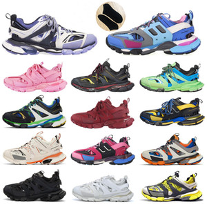 zapatos de la pista al por mayor-2020 Track Newest Outdoor Athletic M Triple S Sport Shoes Sneakers similar Designer sudadera mujer hombres hombre zapatillas zapatos balenciaga balenciaca balanciaga