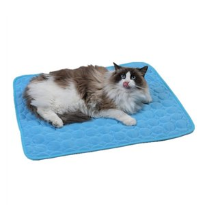 Wholesale cooling blanket for sale - Group buy Pet Cooling Mat Dog Mat Cooling Summer Pad For Dogs Cat Blanket Sofa Breathable Pet Dog Bed Summer Washable For Cat