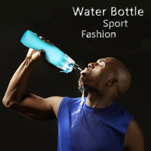 Wholesale sports cooler bags for sale - Group buy Sport Cooling Spray Water Bottle ml oz Outdoor Camping Travel Water Bottle Plastic Frosted Cup Leak proof Water Bottle CCD3410