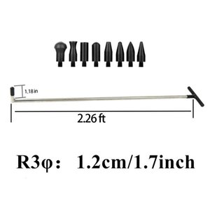 Wholesale car puller resale online - FURUIX Tools Single Piece Puller Rod Hook Repair Car Dent Hail Damage Tool Set With Heads Household Hand Tool R3