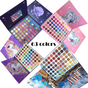 Wholesale eye shadow pallets resale online - no logo color pan style professional eyeshadow palette Shades Makeup Palette Highly Pigmented Matte Eye Shadow Pallet Nude Shimmer