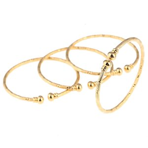 Wholesale babies bracelets for sale - Group buy New India African Baby Bangle For Boys Girls Gold Color Ethiopian Kids Bangles Bracelet Jewelry