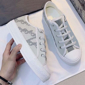 Wholesale girls sneakers for sale - Group buy 2021 Sell Well High Quality Women shoes Espadrilles Sneakers printing Walk Sneaker Embroidery canvas Platform Shoes Girls By shoe02