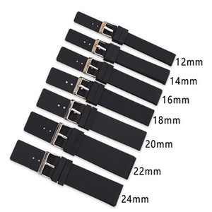 Wholesale 12mm rubber resale online - 12mm mm mm mm mm mm mm Sile Replacement Watch Band Strap Universal Rubber Sport Watchband Bracelet Acc jllmnl