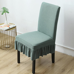 Wholesale dining rooms chairs for sale - Group buy Green New Crushed Velvet Dining Chair Covers Spandex Elastic Chair Slipcover Dining Room Case for Kitchen Wedding Banquet