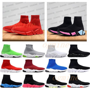 bottes décontractées pour hommes achat en gros de-news_sitemap_homechaussures hommes balenciaga balenciaca balanciaga spiridon caged Casual runner shoes Metallic Silver Lemon Venom Pistachio Frost speed womens mens trainers sports sneakers