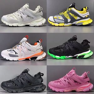 Paris Platform Sneakers Paris triple s 2.0 Tess S Gomma Trek Fashion Men Women Casual Shoes vintage Clunky Trainer Walking Shoes Chaussures