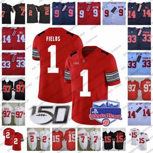 2020 Ohio State Buckeyes 2 JK Dobbins 9 Binjimen Victor 14 KJ Hill 7 Haskins Jr. Bosa Justin Fields Chase Young Playoff Jersey