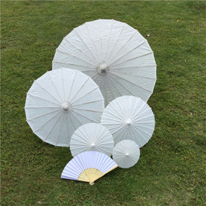 Wholesale umbrellas for kids resale online - Cheapest Chinese Japanesepaper Parasol Paper Umbrella For Wedding Bridesmaids Party Favors Summer Sun Shade Kid Size G2