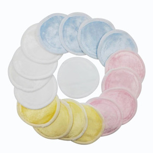 Wholesale makeup cosmetic cotton pads for sale - Group buy Reusable Cotton Pads Makeup Remover Washable Facial Cleansing Double Layer Sanitary Washable Pad Cosmetics Skin Care Tools