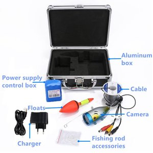 Wholesale video fishing resale online - 7 inch LCD Monitor Fish Finder Underwater Fish Camera Detector IR Light Adjustable Underwater Fishing Camera video finder