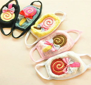 Wholesale mouth masks for winter for sale - Group buy face mask Kids Lollipop warm mask children s dustproof mouth masks hot sale winter cycling anti dust cold facemask for boys girls