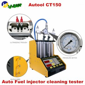 Wholesale fuel injector cleaners resale online - AUTOOL CT Gasoline Car Motorcycle Auto Ultrasonic Fuel injector cleaning tester V V streamlining cylinders CT1501