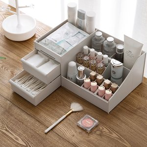 Wholesale organizers for makeup for sale - Group buy Plastic Makeup Organizer Multi purpose Storage Box Jewelry Container Make Up Case Box Make up organizers organizer for Cosmetic Z1123