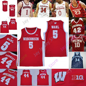 wisconsin badgers jerseys achat en gros de-news_sitemap_homeWisconsin Badgers Basketball Jersey NCAA College King Aleem Ford Trice Brevin Pritzl Walt McGrory Finley Harris Joe Hedstrom Micah Potter