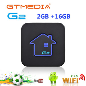 Wholesale best android tv box uk for sale - Group buy Best GTMEDIA G2 TV decoder Box K HDR Android Ultra HD G G WIFI Google Cast Netflix Set top Box Media