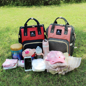 Wholesale nurse bags for sale - Group buy HH women Large Capacity Waterproof Maternity Backpack fashion Mommy Backpacks Nappies Diaper Bags Mother Handbags Outdoor Nursing Travel Bag