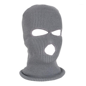 Wholesale cycling caps resale online - NEW Full Face Mask Ski Mask Winter facemask Cap Balaclava Hood Army Tactical Hole cycling winter n261
