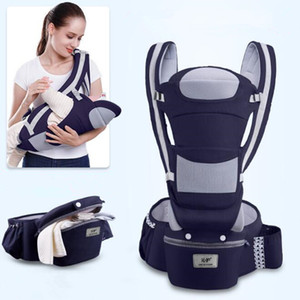 Wholesale baby carriers wraps resale online - 0 M Ergonomic Baby Carrier Using Way Infant Baby Hipseat Carrier Front Facing Ergonomic Kangaroo Baby Wrap Sling Travel