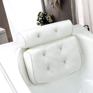 Wholesale bath pillows for sale - Group buy SPA Bath Pillow with Suction Cups Neck and Back Support Headrest Pillow Thickened for Home Hot Tub Bathroom Cushion Accessories
