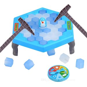 Wholesale ice breaking games for sale - Group buy Penguin Peril Game Ice block Breaking Game Save Penguin Board Game for Kids Party