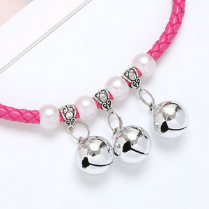 Wholesale aluminum accessories china for sale - Group buy Cheap Pattern Pets Collars Fashion Adjustable High end Pet Dogs Cats Outdoor Personality Cute Pet Golden Bell Collar Accessories HHE3407