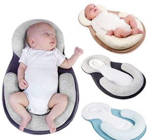 Wholesale baby anti rollover pillow for sale - Group buy Baby Pillow Infant Newborn Anti rollover Mattress Pillow Baby Sleep Positioning Pad Prevent Flat Head sqcWbM bdenet