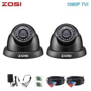 Wholesale night filter resale online - ZOSI HD P TVI Color CMOS MP outdoor Waterproof Night Vision CCTV Surveillance Security Cameras with IR cut filter Lens1
