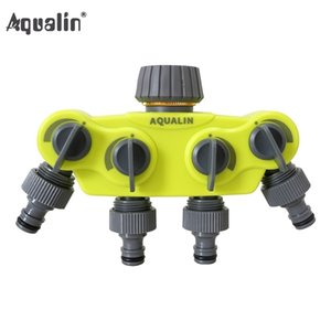 Wholesale taps plastics for sale - Group buy Garden Way Hose Splitter Plastic Connector Distributor Hose Connector with Copper Connector for Outdoor Tap and Faucet