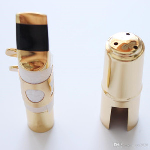 Professional Tenor Soprano Alto Saxophone Metal Mouthpiece Gold Plated Mouthpiece Sax Mouth Pieces Size 5 6 7 8 9