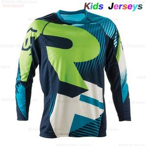 Wholesale jersey boys resale online - 2020 New Kids Quick Dry Motocross Jersey Downhil Mountain Bike DH Shirt MX Motorcycle Clothing Ropa for Boys MTB T Shirts Q1205