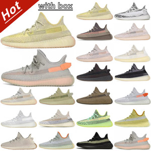 Wholesale camel women shoes for sale - Group buy kanye west v2 ash stone black gray men women zebra desert sage Sneakers pearl natural sand taupe reflective run shoe sport running shoes